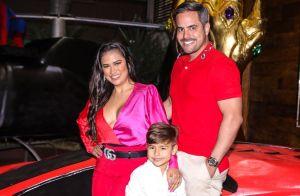 Filho de Simone e Kaká Diniz, Henry ganha festa temática de super-heróis. Fotos!