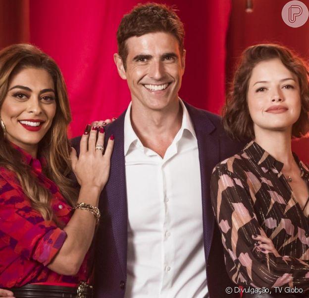 Na novela 'A Dona do Pedaço', Régis (Reynaldo Gianecchini) dá fora em Josiane (Agatha Moreira), inocenta Maria da Paz (Juliana Paes) e rejeita dar o divórcio para a boleira, querendo reconquistá-la