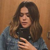 Maisa Silva transforma visual e se gaba pelo novo cabelo: 'Voltei pro curtinho'
