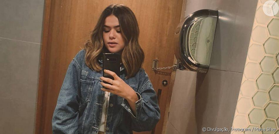 Maisa Silva renova visual e corta o cabelo