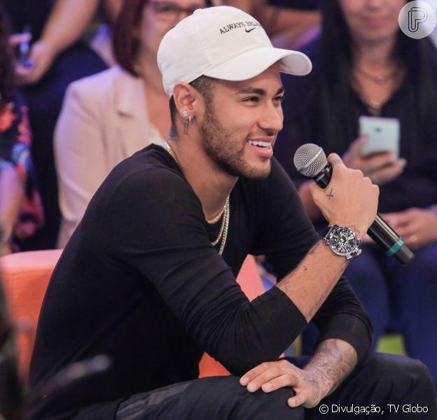 Neymar se pronunciou sobre o caso Najila Trindade nesta sexta-feira, 9 de agosto de 2019
