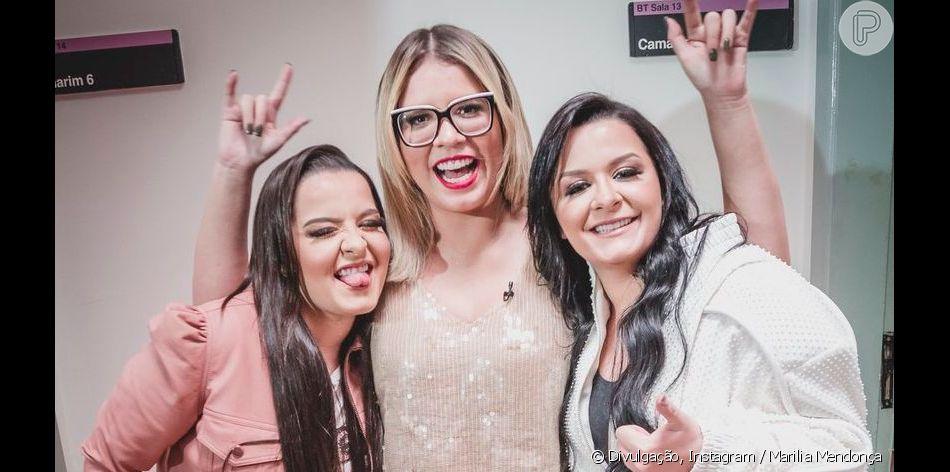 Marilia Mendonça ganha recado de Maiara e Maraisa no 'Só Toca Top' deste sábado, 10 de agosto de 2019