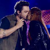 Dupla de Sorocaba, Fernando Zor dá beijo em Maiara ao gravar novo DVD. Fotos!