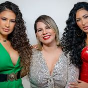 Que poder! Simone, Simaria e Marilia Mendonça usam looks coloridos em novo clipe