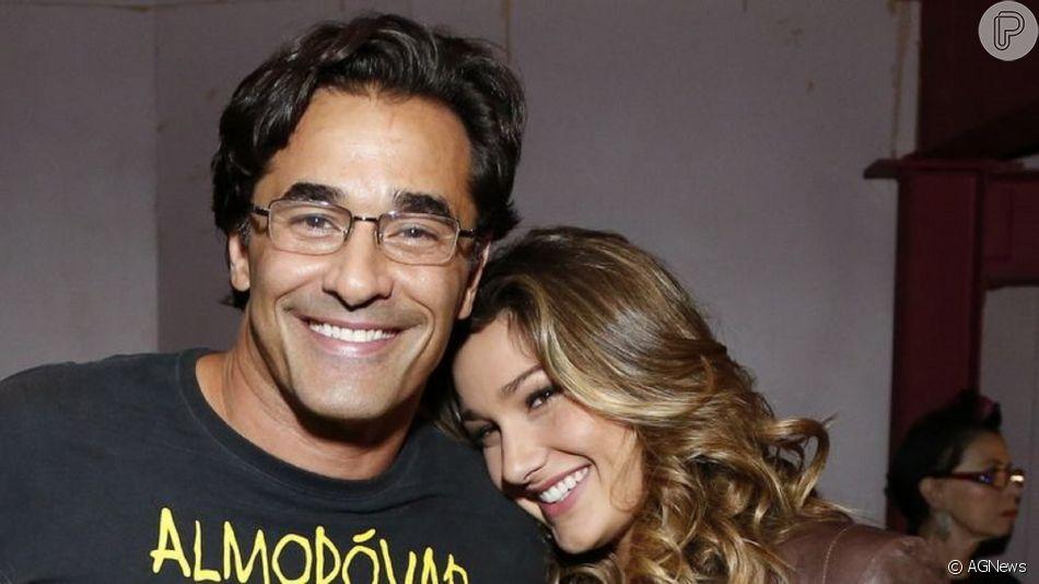 Sasha Meneghel foi comparada ao pai, Luciano Szafir, em foto no Instagram