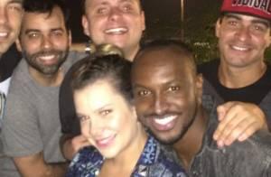 Thiaguinho, Fernanda Souza, Bruno Gagliasso e mais famosos curtem festa no Rio