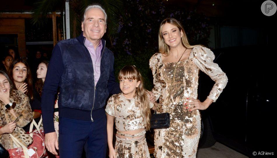 Filha de Ticiane Pinheiro e Roberto Justus, Rafaella ganha festa luxuosa para comemorar seus 10 anos, nesta sexta-feira, 6, em São Paulo