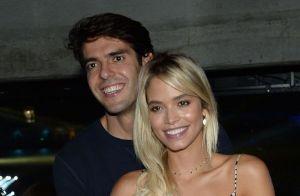 Carol Dias detalha vestido de noiva para casar com Kaká: 'Romântico e fashion'