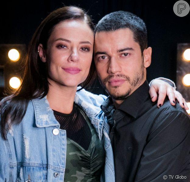 Camilo (Lee Taylor) mantém Vivi (Paolla Oliveira) em cárcere na novela 'A Dona do Pedaço'