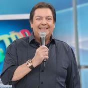 Fausto Silva usa blusa repetida no 'Domingão do Faustão' e web ri: 'Zoada'