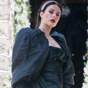 All black! Tudo sobre o 2º vestido de noiva de Vivi Guedes em 'A Dona do Pedaço'