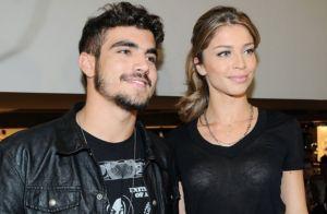 É casal que fala? Grazi Massafera e Caio Castro curtem juntos Rock in Rio. Vídeo