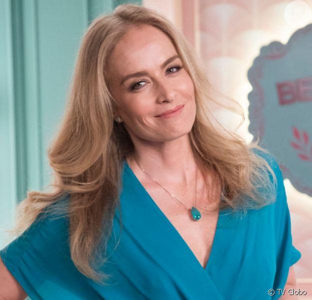 Angélica substituirá Vivi (Paolla Oliveira) como jurada e dará a nota 10 para Maria da Paz (Juliana Paes) na novela 'A Dona do Pedaço'