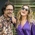 Silvana (Ingrid Guimarães) se apaixona por Mario (Lucio Mauro Filho) e faz campanha para ele voltar com ela na novela 'Bom Sucesso'