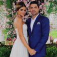 Thássia Naves e Artur ficaram noivos em 2018