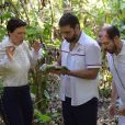 Sophia (Camila Rodrigues) e Antonio (Felipe Cunha) vão comer larvas na novela 'Topíssima' após sofrerem acidente de helicóptero