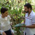 Acidente de helicóptero com Sophia (Camila Rodrigues) e Antonio (Felipe Cunha) demorou nove dias para ser gravado para a novela 'Topíssima'