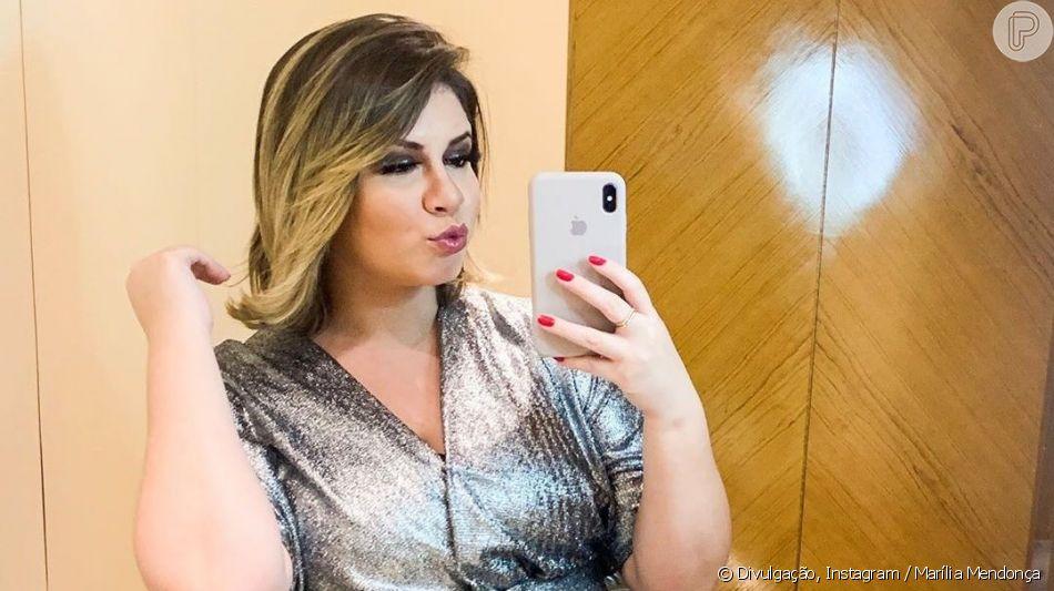 Marília Mendonça relata dificuldade para lidar com gravidez e carreira, em 19 de outubro de 2019