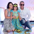 Filho de Roberto Carlos, Dudu Braga comemora aniversário de 4 anos da filha nesta sexta-feira, dia 25 de outubro de 2019