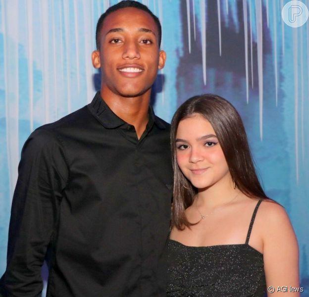 Mel Maia declarou seu amor ao namorado João Pedro neste domingo, 27 de outubro de 2019
