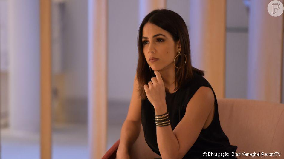 Na novela 'Topíssima', Angélica (Pérola Faria) fica com medo de ser apontada como assassina de Lara (Cristiana Oliveira) e faz Sophia (Camila Rodrigues) se confundir achando que pode ter matado a mãe a partir do capítulo de quarta-feira, 6 de novembro de 2019
