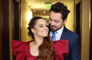 Maiara usa look preto poderoso em programa a dois com Fernando: 'Simbora bailar'