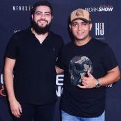 Henrique e Juliano dedicam show a Cristiano Araújo: 'Cara que a gente admira'