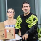 André Marques e Sofia Starling são clicados deixando supermercado no Rio. Fotos!