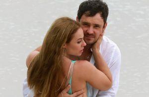 Chiclete e Vivi juntos! Paolla Oliveira beija Sérgio Guizé em gravação de novela