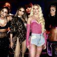 Anitta, Lexa, Luísa Sonza e MC Rebecca lançam clipe em festa 'Combatchy' e rebolam muito em show realizado em São Paulo, na noite desta terça-feira, 19 de novembro de 2019