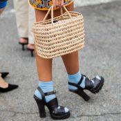 10 provas de que a bolsa de palha também é glam para os looks de rua