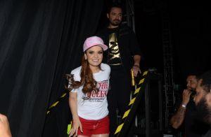Maiara usa look curto em show e é prestigiada por namorado, Fernando Zor. Fotos!