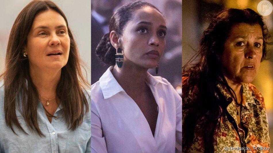 Protagonistas de 'Amor de Mãe', vividas por Adriana Esteves, Taís Araújo e Regina Casé, conquistam web na estreia nesta segunda-feira, dia 25 de novembro de 2019