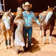 Dupla de Fernando, Sorocaba assumiu namoro com  Biah Rodrigues em novembro de 2018