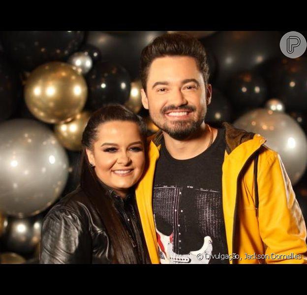 Fernando e Maiara curtem folga ao lado da filha do cantor, Alice, em 1° de dezembro de 2019