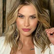 Andressa Suita alia sofisticação e sensualidade em look total white para festa