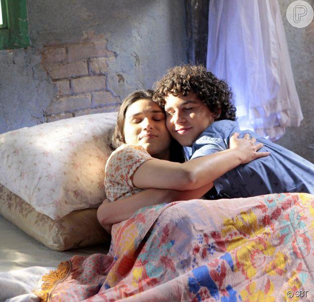 João (Ígor Jansen) vai ao Ceará visitar a mãe doente e descobre um grande segredo do passado deles na novela 'As Aventuras de Poliana'
