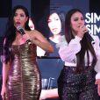 Simone   e Simaria, Luísa Sonza, Vitão e outros famosos na festa da gravadora Universal Music, realizada  no hotel Nacional em São Conrado, zona sul do Rio de Janeiro, na noite desta segunda-feira, 09 de dezembro de 2019