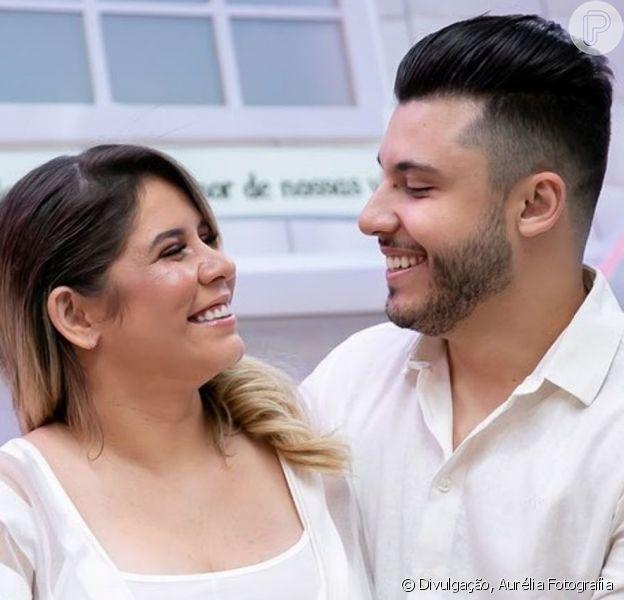 Leo nasceu! Marília Mendonça deu à luz primeiro filho com Murilo Huff nesta segunda-feira, 16 de dezembro de 2019