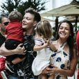 Filha de Thais Fersoza e Michel Teló, Melinda e Teodoro vão entrar para a escolinha em 2020