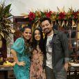 Maiara e Fernando Zor participam de brincadeira junto com filha de cantor em vídeo no Instagram nesta quinta-feira, dia 26 de dezembro de 2019
