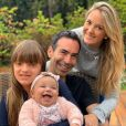 Ticiane Pinheiro explicou ausência de filha mais velha em foto da família nesta terça-feira, 31 de dezembro de 2019