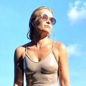 De maiô, Angélica aparece poderosa em foto e web elogia: 'Corpo escultural'