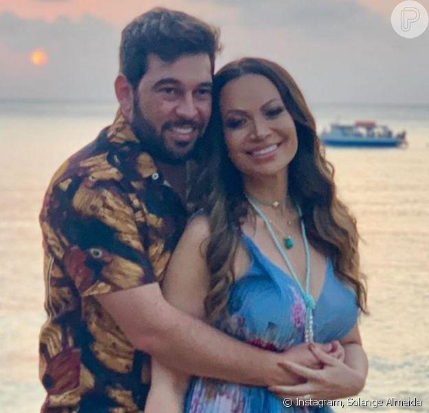 Solange Almeida rompe casamento com Leandro Andriani