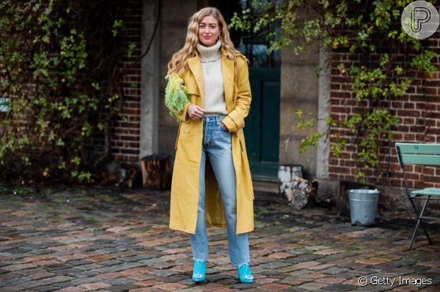 Casaco longo é trend da moda Inverno