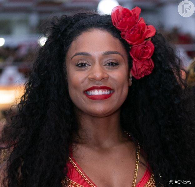 MC Rebecca será Rainha das passistas na escola carioca Acadêmicos do Salgueiro