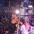 Claudia Leitte usou fantasia nordestina em bloco de Carnaval em SP