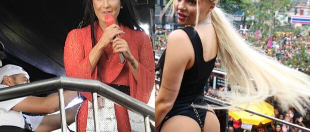 Luísa Sonza sexy e Claudia Leitte morena se destacam em blocos de Carnaval. Veja