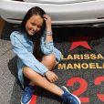 Larissa Manoela não conteve a emoção ao se despedir do SBT no fim de 2019