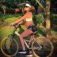 Romana Novais retomou exercícios após a gravidez